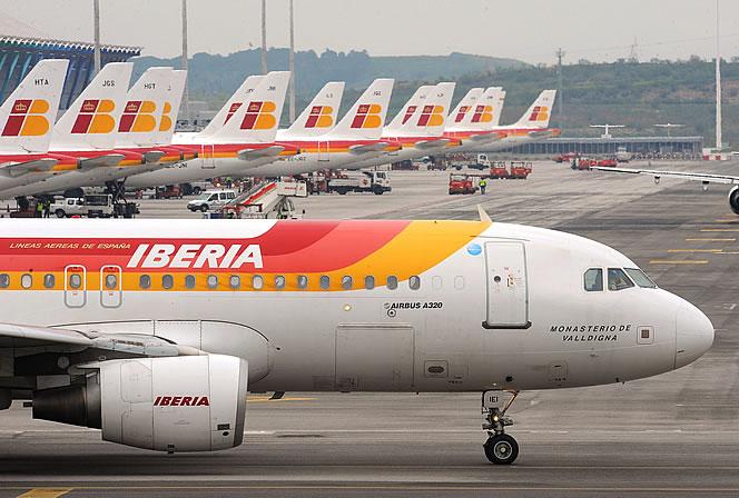Aviones-flota-Iberia-aeropuerto-Madrid-Barajas