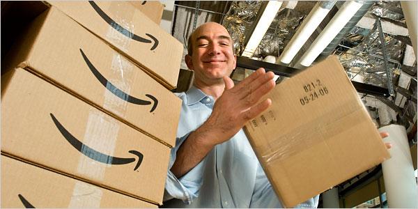 Amazon planea entregar el producto antes de que sea comprado