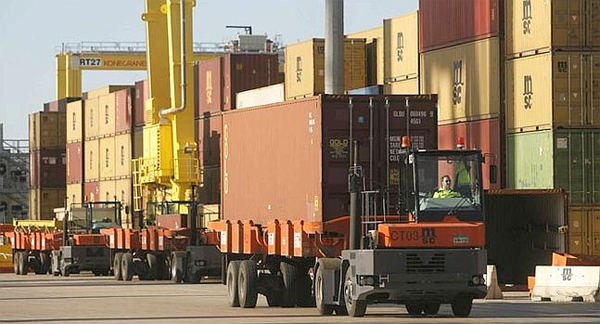 NRF prevé una bajada en los volúmenes de importaciones en EEUU en febrero