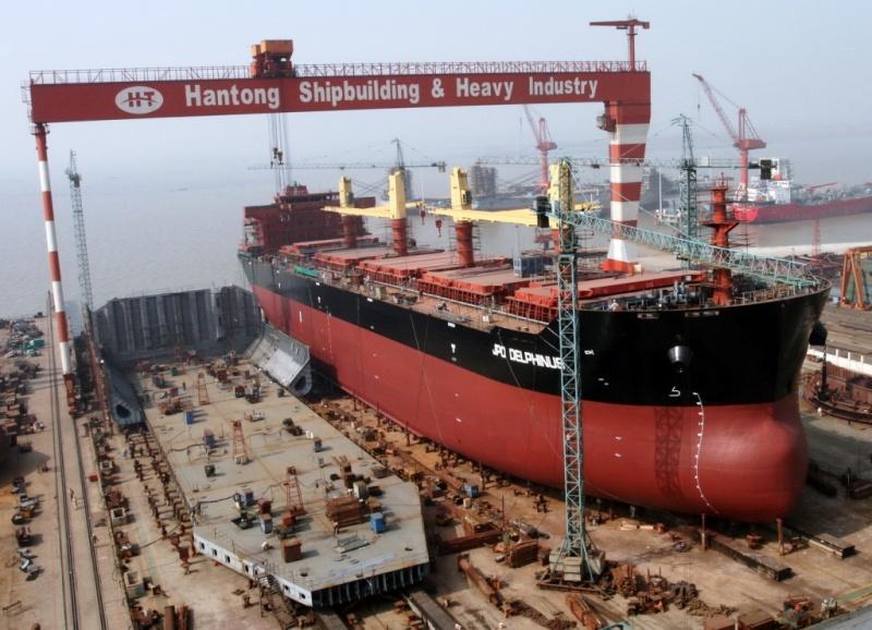 Reestructuración en la construcción naval en China