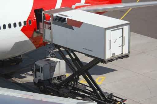 Frágil recuperación de la carga aérea
