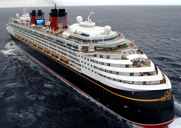 El crucero Disney Magic llegará a Málaga en 2014