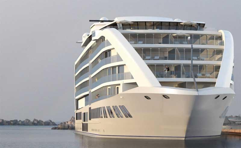 Gibraltar tendrá un buque-hotel de 5 estrellas