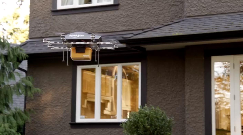 críticas a la idea de Amazon de usar drones para repartir