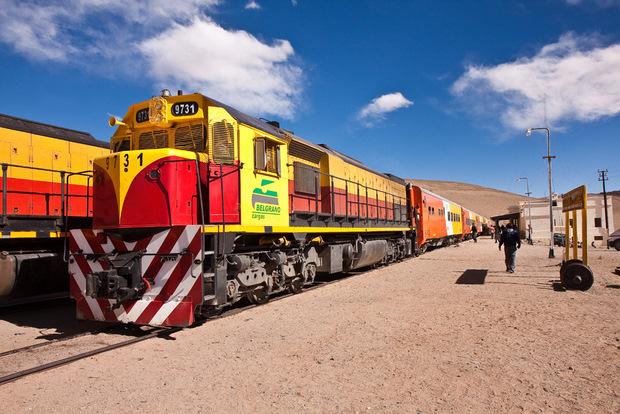 China invierte en el Belgrano Cargas argentino