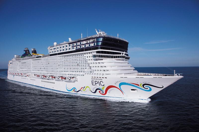 Norwegian Epic recorrerá Europa durante 2015