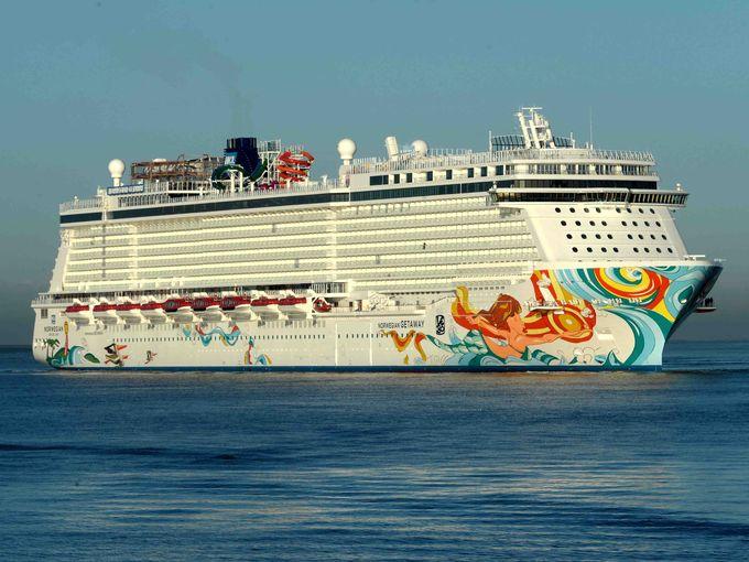 Meyer Werft entrega el buque Norwegian Getaway