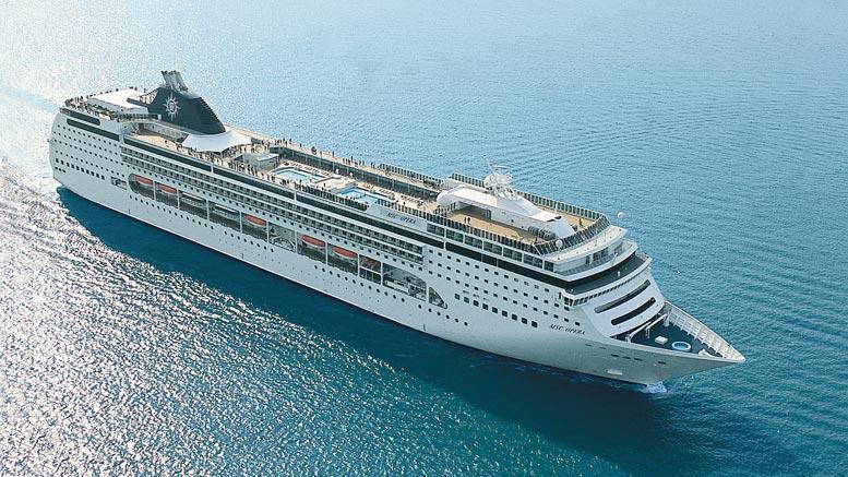 MSC Cruceros investiga acusaciones de contaminación del mar