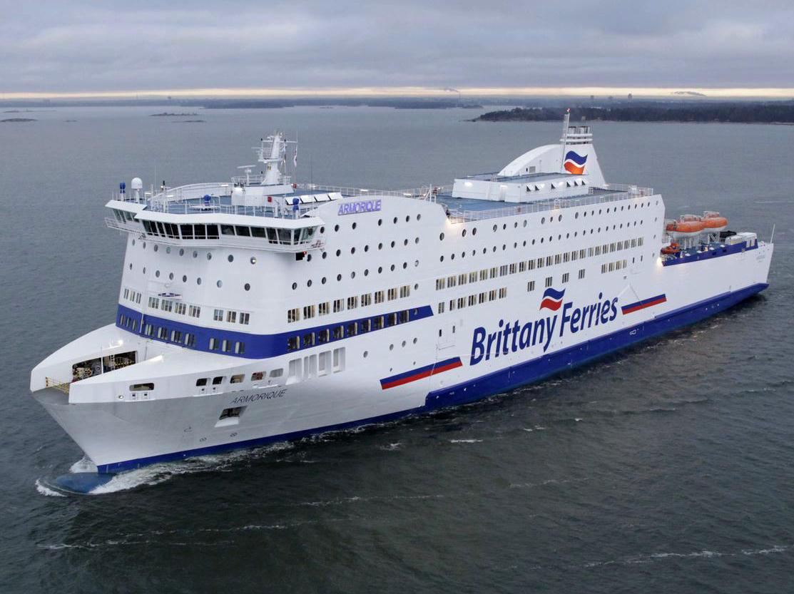 Brittany Ferries encarga un nuevo barco para su flota