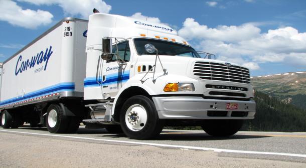 Un trabajador de Con-way Freight suma 3 millones de millas sin accidentes
