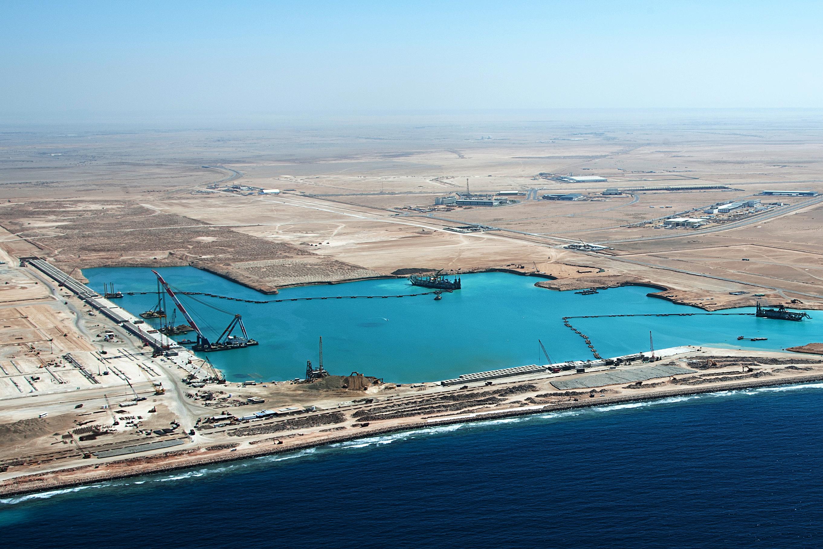 Arabia Saudí tendrá un puerto más grande que Washington DC