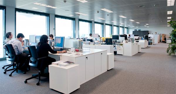 Crece la contrataci n de espacios de oficina for Espacios de oficina