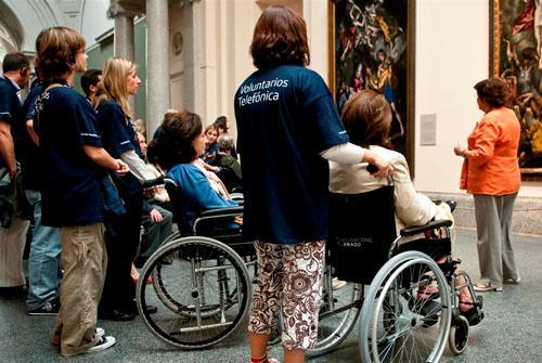 telefonica discapacitados