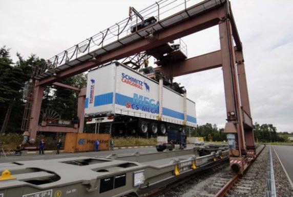 El transporte intermodal ganó fuerza durante 2013