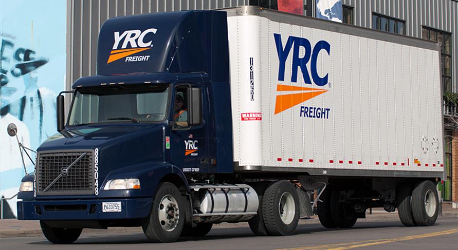 YRC refinancia 1.150 millones de dólares
