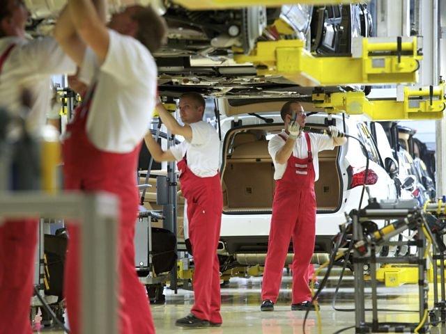 Climatología de EEUU hace descender las manufacturas