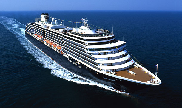 Brote vírico en un crucero de Holland America Line
