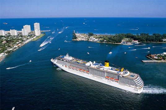 Cruceros con escala en Port Everglades se beneficiarán del nuevo aeropuerto
