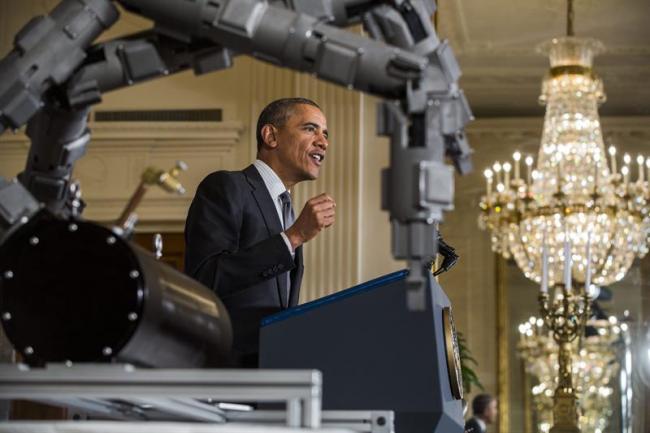 Obama anuncia la creación de institutos de innovación