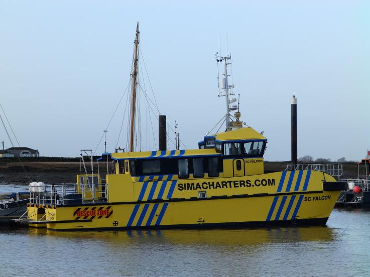 CTruck entrega a Sima Charters su nuevo barco de trabajo