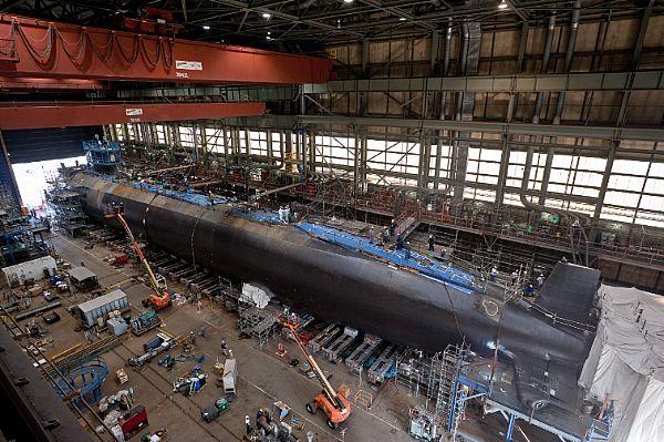 Virginia se sitúa a la cabeza en construcción naval