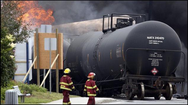Reglas de seguridad en el ferrocarril afectan a los tanques de petróleo