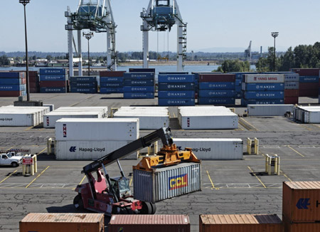 Hanjin Shipping seguirá operando en Portland