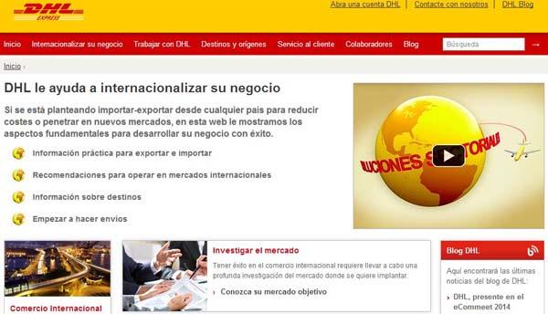 DHL-Express-pagina-web-exportadores