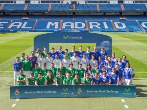 Movistar lleva a 40 ganadores a jugar al Santiago Bernabéu