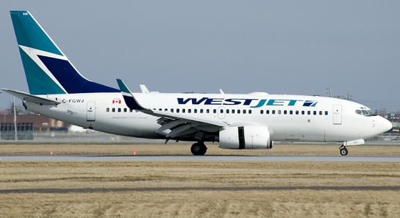 westjet-avion