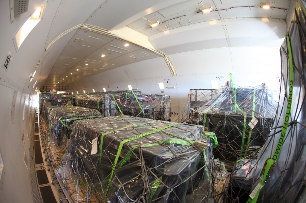 IATA informa del crecimiento de la carga aérea en febrero