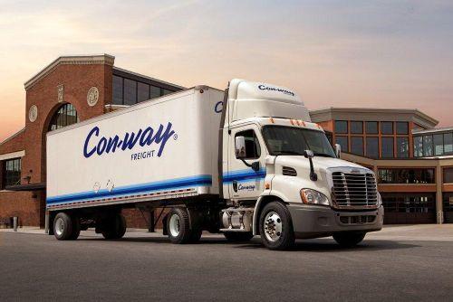 Con-way Freight invierte en sus camiones