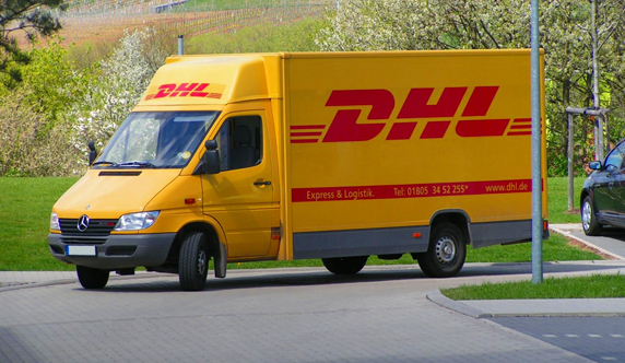 DHL-camiones
