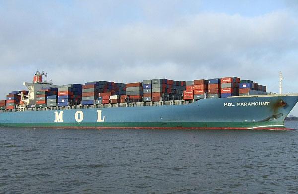 MOL paga para recuperar el barco incautado por China