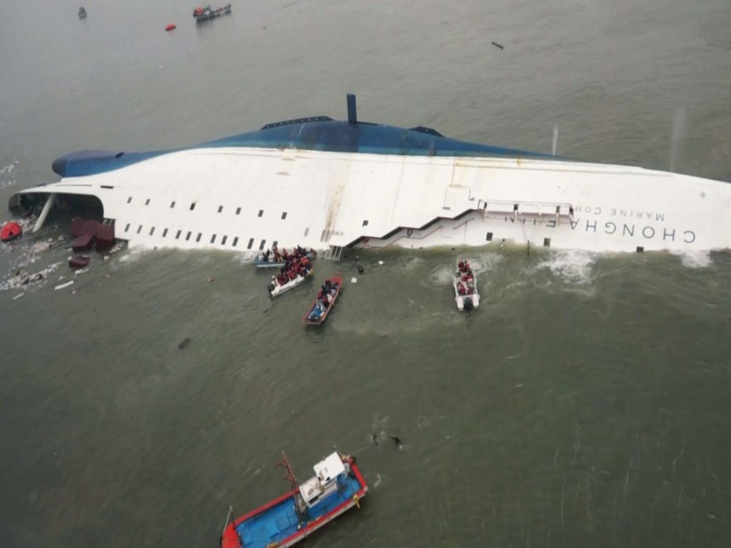 Chonghaejin Marine a la cabeza en accidentes