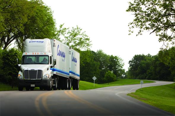 Con-way amplía su flota con 550 nuevos camiones