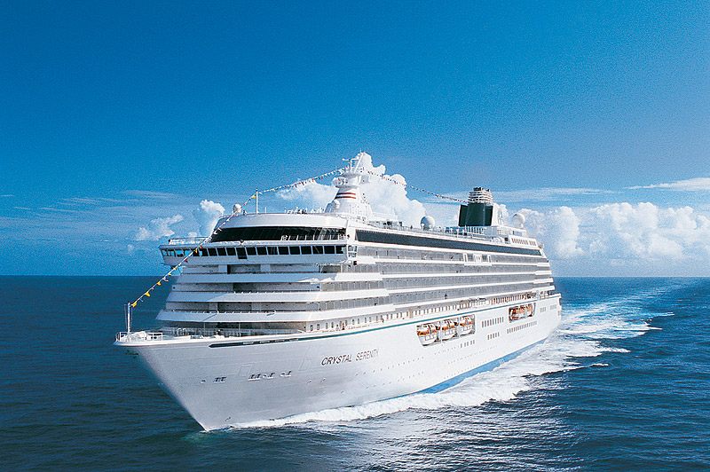 "Crystal Cruises inicia sus cruceros ""running"""