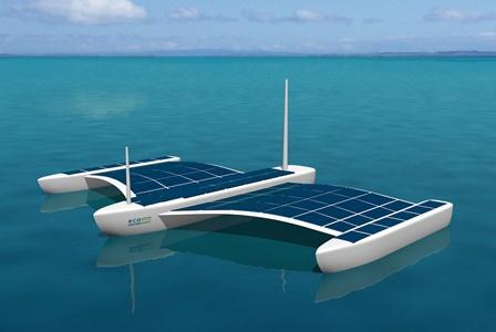 Desarrollan un vehículo no tripulado accionado con energía solar