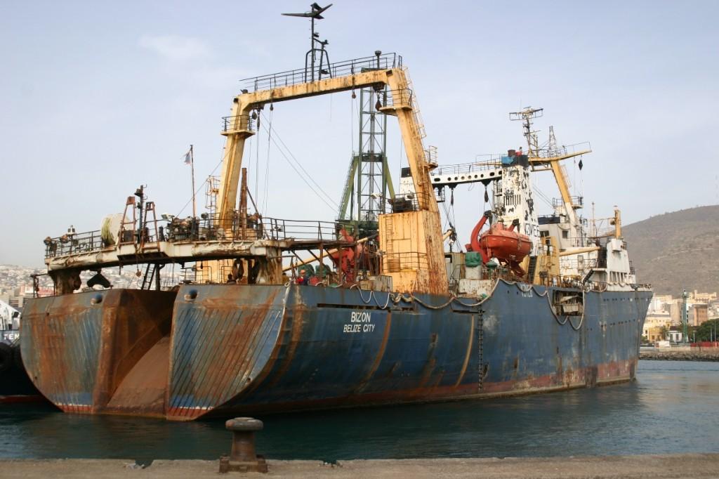 El desguace de buques alcanza cifras récord en 2014