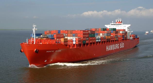 Hamburg Süd bautiza su nuevo portacontenedores