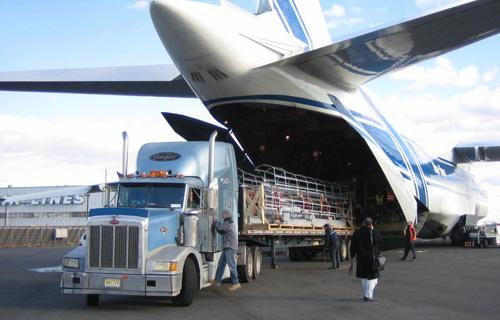 La carga aérea sigue creciendo a un ritmo lento