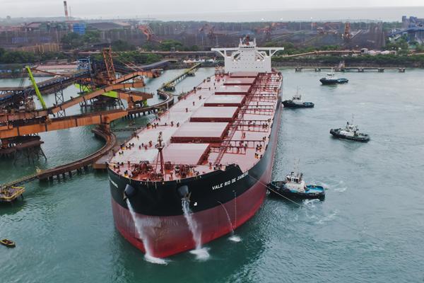 Posible acuerdo entre China y Vale para el transporte de mineral de hierro