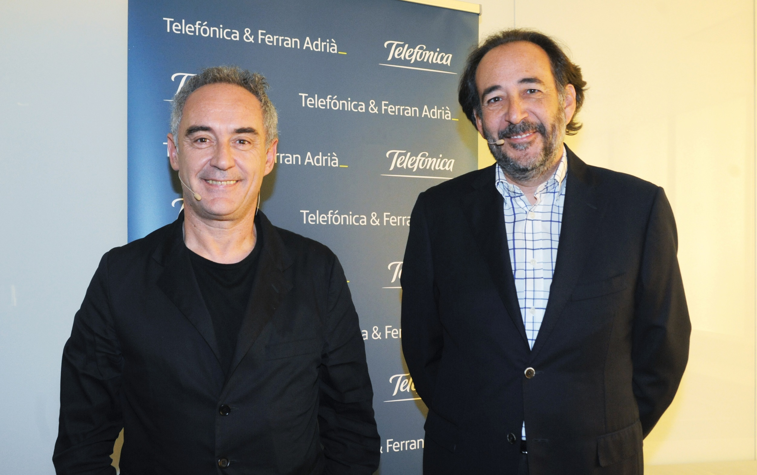 Telefonica renueva alianza con Ferran Adria