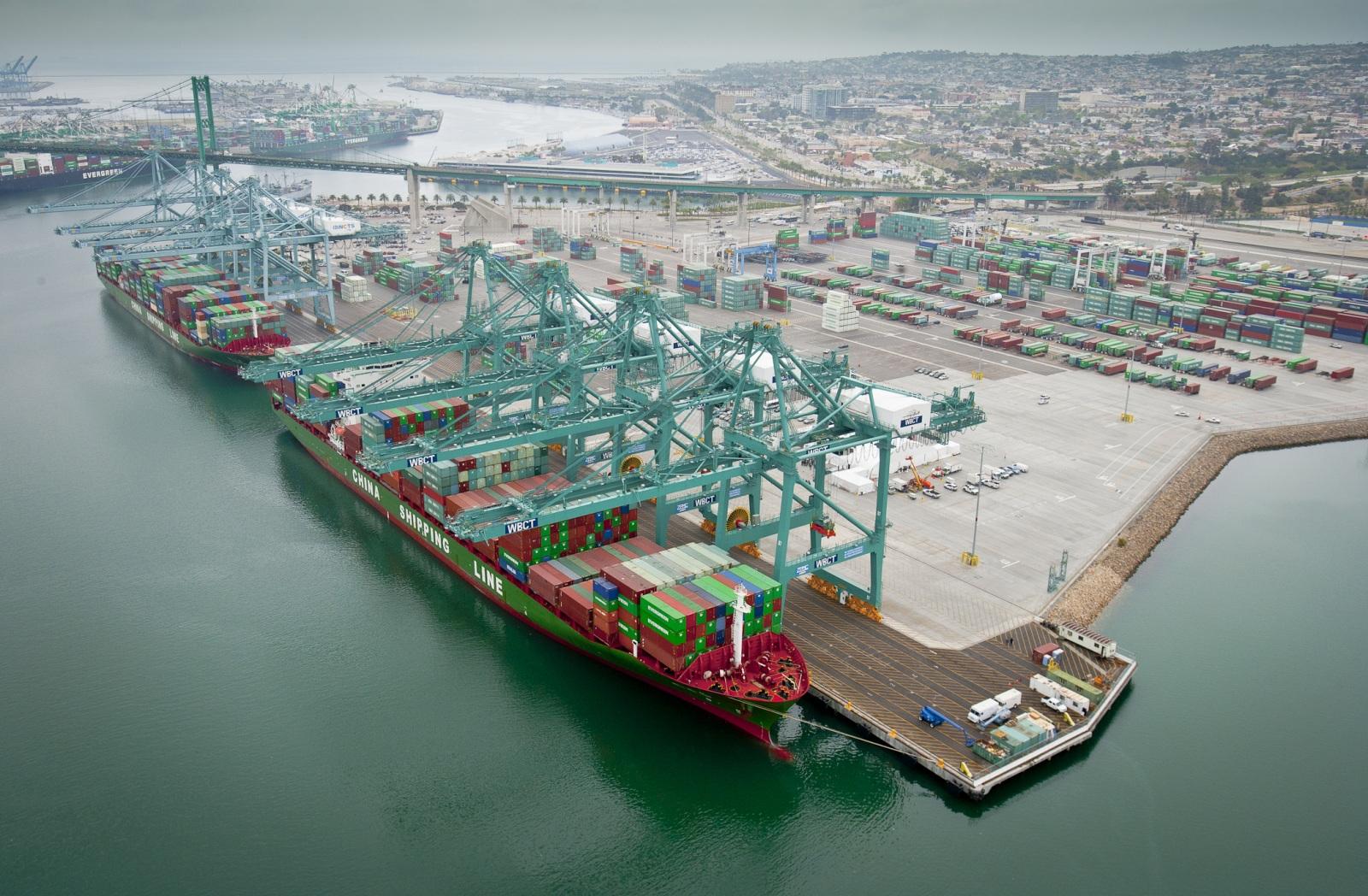 Aumentan ganancias en puertos de la Costa Oeste