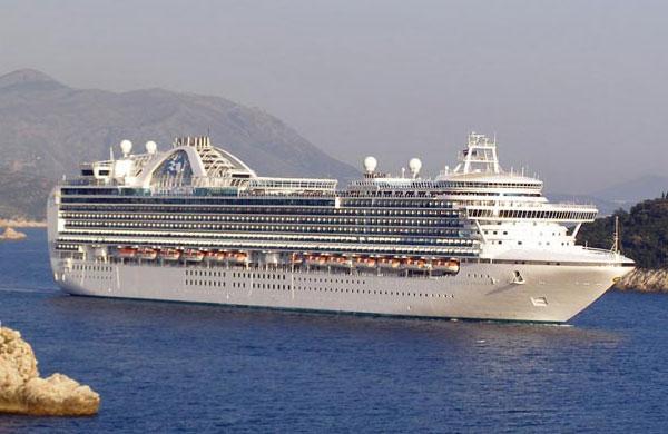 Emerald Princess llega al Puerto de Valletta