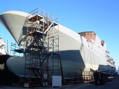 Grecia es el país que más invierte en construcción naval