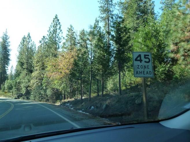 daho modifica los límites de velocidad