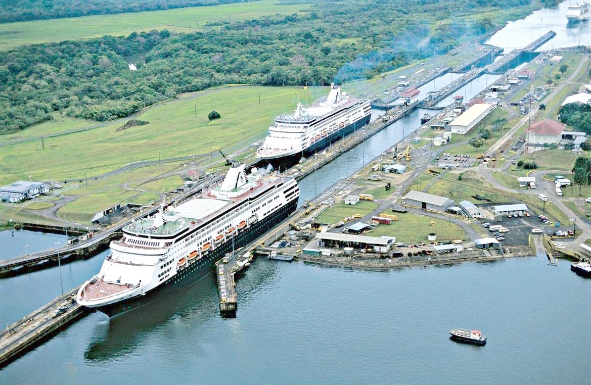 Llega el segundo juego de compuertas al Canal de Panamá