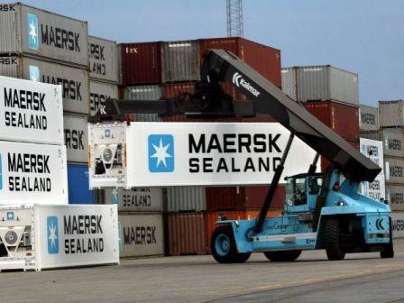 Maersk construye una nueva planta de contenedores en Chile