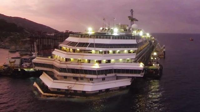Sigue sin haber acuerdo sobre el Costa Concordia